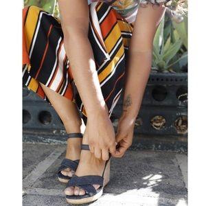 Tom's Sienna Wedge Sandal
